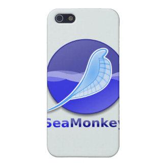 Logotipo del texto de SeaMonkey iPhone 5 Funda