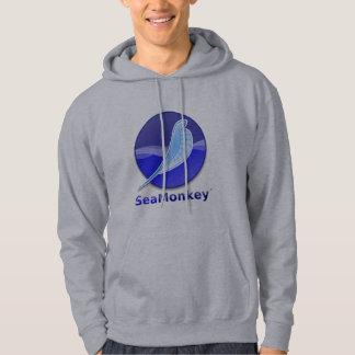 Logotipo del texto de SeaMonkey Jersey Con Capucha