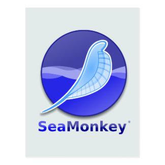 Logotipo del texto de SeaMonkey Postal