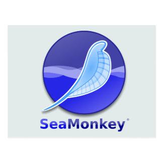 Logotipo del texto de SeaMonkey Tarjetas Postales