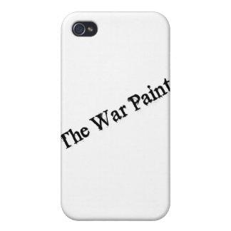 """Logotipo del texto del negro """"de la pintura de gue iPhone 4/4S carcasa"""