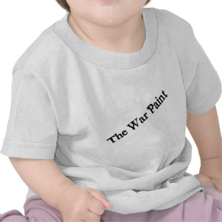 "Logotipo del texto del negro ""de la pintura de camiseta"