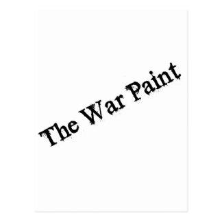 """Logotipo del texto del negro """"de la pintura de postal"""