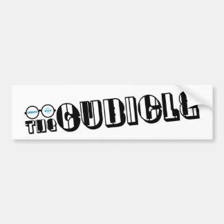 "logotipo del ""theCUBICLE"" (1) Pegatina Para Auto"