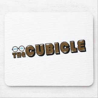 "logotipo del ""theCUBICLE"" (1) Tapetes De Raton"
