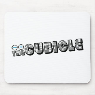 """logotipo del """"theCUBICLE"""" (1) Mouse Pads"""