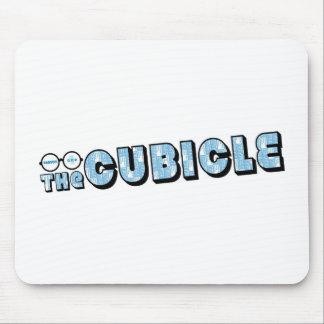 """logotipo del """"theCUBICLE"""" (1) Alfombrilla De Ratones"""