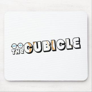 """logotipo del """"theCUBICLE"""" (1) Alfombrilla De Raton"""