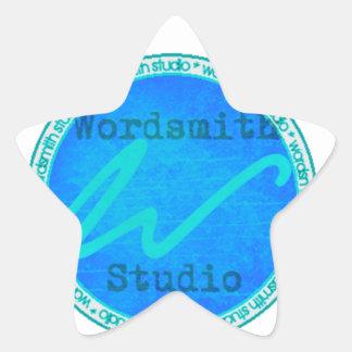 Logotipo del trullo WSS Pegatina En Forma De Estrella