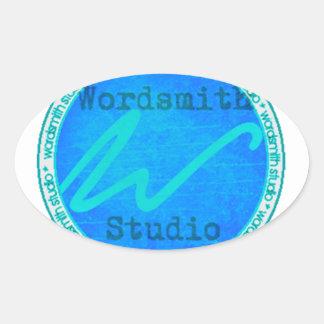Logotipo del trullo WSS Pegatina Ovalada