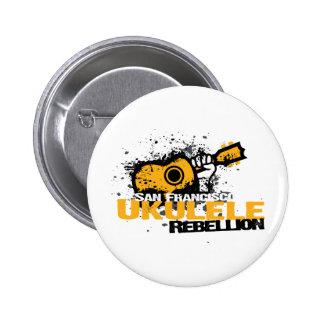 logotipo del Ukulele del sf Pin