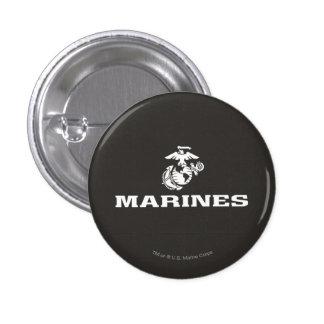 Logotipo del USMC apilado - blanco Pins
