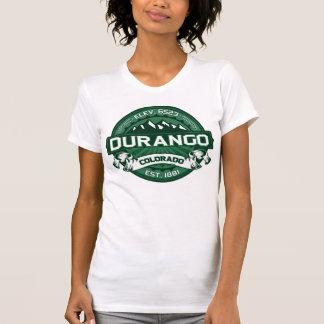 """Logotipo del verde de Durango """"Colorado"""" Camisetas"""