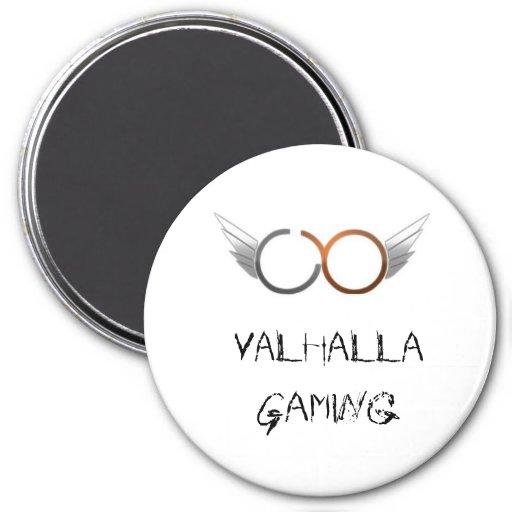 Logotipo del VG, juego de Valhalla Iman De Nevera