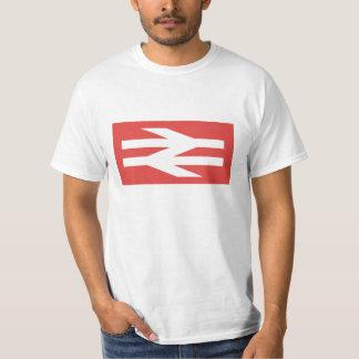 Logotipo del vintage de British Rail Poleras