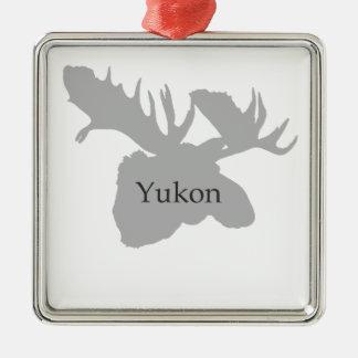 Logotipo del Yukón Canadá (alces) Ornamento De Reyes Magos