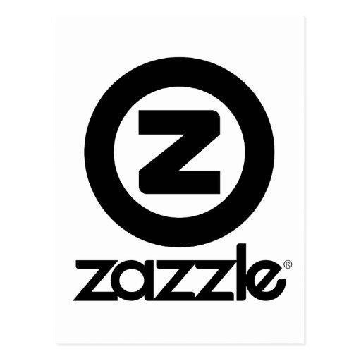 logotipo del zazzle apilado postales