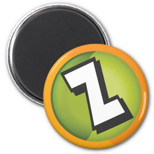 logotipo del zerocurve imán para frigorífico