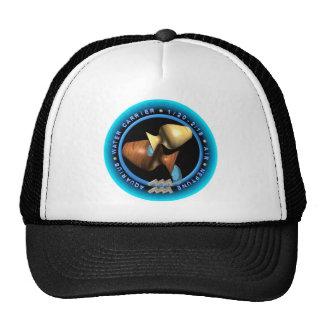 Logotipo del zodiaco del acuario de Valxart Gorras