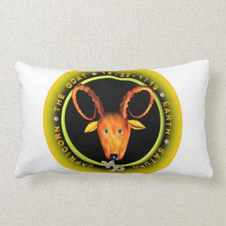 Logotipo del zodiaco del Capricornio de Valxart Almohadas