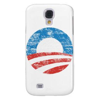 Logotipo descolorado de Obama Funda Para Samsung Galaxy S4