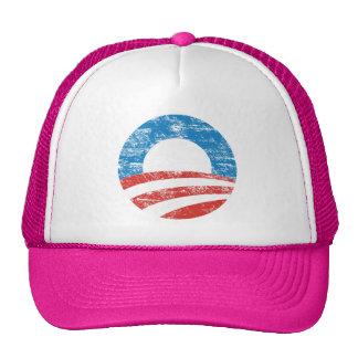 Logotipo descolorado de Obama Gorros