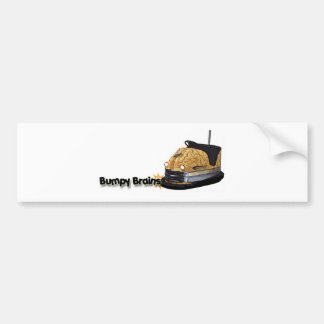 Logotipo desigual del coche de parachoques de los  etiqueta de parachoque