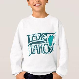Logotipo dibujado mano del lago Tahoe Polera