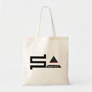 Logotipo digital del color del símbolo de SysAdmin Bolsa Tela Barata