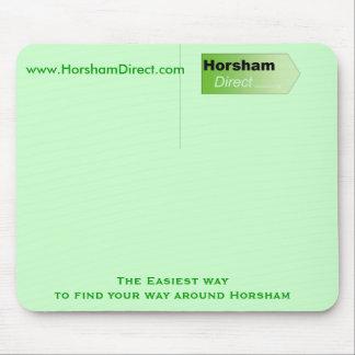 Logotipo directo de Horsham, www.HorshamDirect.com Tapetes De Ratón