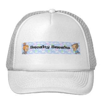 Logotipo disimulado oficial de los chivatos gorros bordados