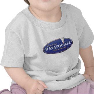 Logotipo Disney de la película de Ratatouille Camisetas