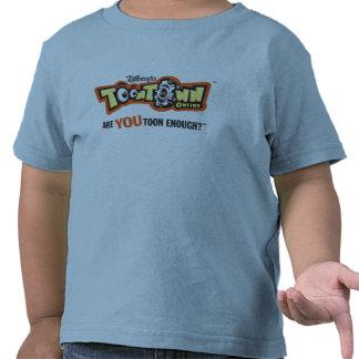 Logotipo Disney de Toontown Camisetas