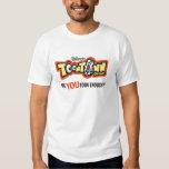 Logotipo Disney de Toontown Playera