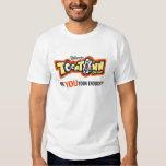 Logotipo Disney de Toontown Playeras