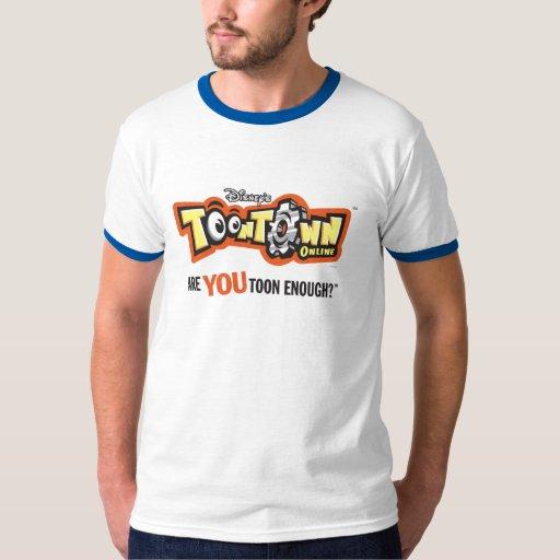 Logotipo Disney de Toontown Remeras