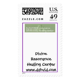 Logotipo divino, resonancia divina que cura franqueo
