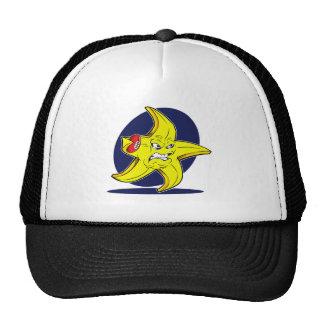 Logotipo doble del suplente de la sombra de gorra