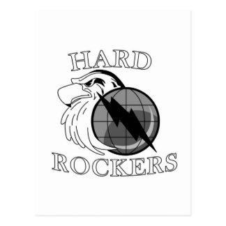 Logotipo duro de los ejes de balancín postal