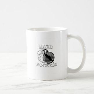 Logotipo duro de los ejes de balancín taza
