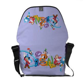 Logotipo el | Mickey de Disney y amigos Bolsa Messenger