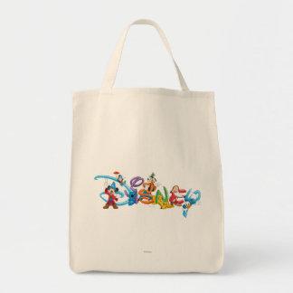 Logotipo el | Mickey de Disney y amigos Bolsa Tela Para La Compra