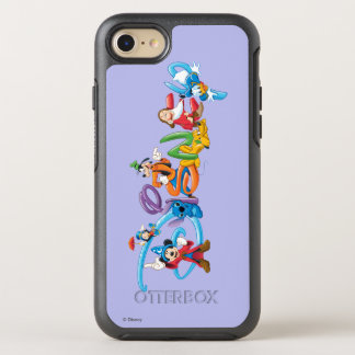 Logotipo el | Mickey de Disney y amigos Funda OtterBox Symmetry Para iPhone 7