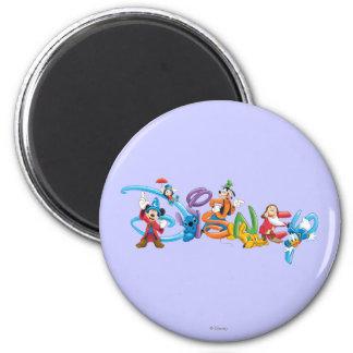 Logotipo el | Mickey de Disney y amigos Imán Redondo 5 Cm