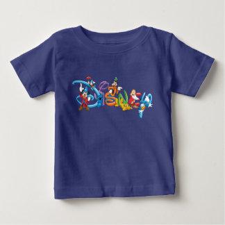 Logotipo el | Mickey de Disney y amigos Playera De Bebé