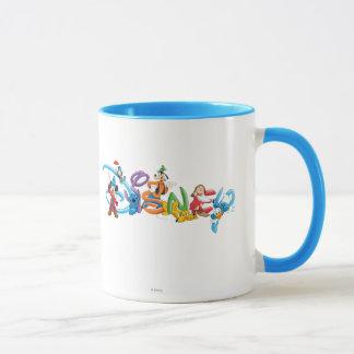 Logotipo el | Mickey de Disney y amigos Taza