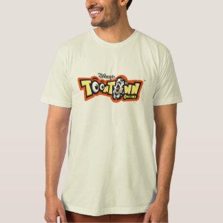 Logotipo en línea Disney de ToonTown Camisas