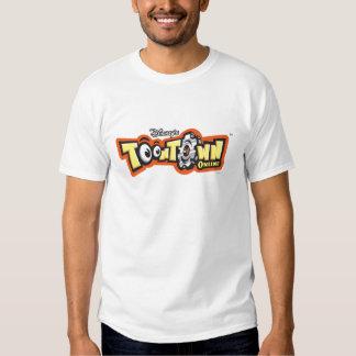 Logotipo en línea Disney de ToonTown Polera
