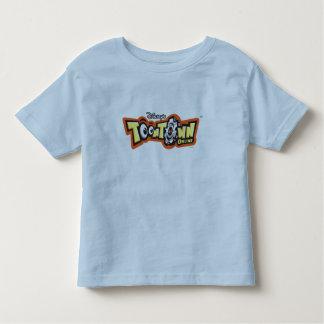 Logotipo en línea Disney de ToonTown Remeras