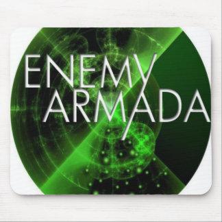 Logotipo enemigo Mousepad del sonar de la armada Alfombrilla De Raton